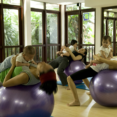 Mommy and Me Course by body and flow