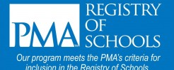 PMA registred schools logo